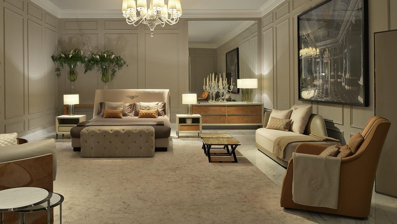 Richmond 床 意大利 Bentley Home 海居汇 进口家具代购 海外家具代购 欧洲家具代购