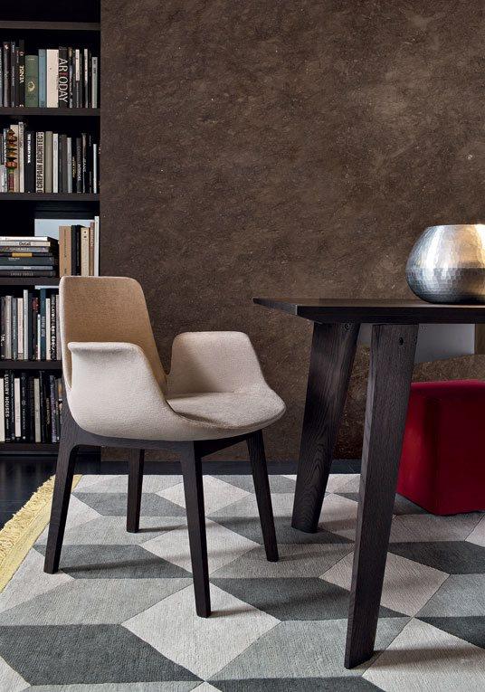 布艺沙发品牌_[ 海居汇 ] 意大利 Poliform VENTURA 扶手椅 / 海外代购 / 欧洲代购